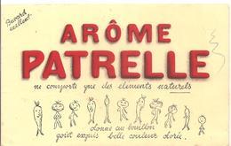 Buvard PATRELLE Arôme PATRELLE Ne Comporte Que Des éléménts Naturels - Potages & Sauces