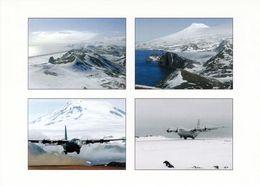 1 AK Island Jan Mayen Zu Norwegen * Ansichten Dieser Insel U.a. Norwegian Air Force Flugzeug C-130 - Vulkan Beerenberg - Norwegen