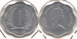 East Caribbean States 1 Cent 1987 Km#10 - Used - East Caribbean States