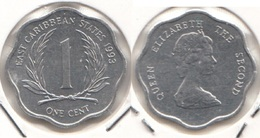 East Caribbean States 1 Cent 1993 Km#10 - Used - Caraibi Orientali (Stati Dei)