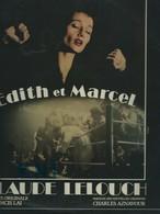Vinyle  33T  ,  Piaf , Edith Et Marcel - Soundtracks, Film Music