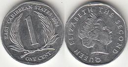 East Caribbean States 1 Cent 2004 Km#34 - Used - Caraibi Orientali (Stati Dei)