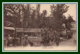 CPA Belleau Soldats Au Bain Non écrite TB Guerre 1914 - France