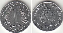 East Caribbean States 1 Cent 2008 Km#34 - Used - Caraibi Orientali (Stati Dei)