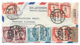 Lima 1941 Nach Neustadt, Deutschland - Brief, Luftpost, Einschreiben Mit Zensur, Ohne Inhalt - Peru