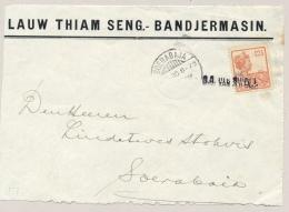 Nederlands Indië - 1930  - Commercial Coverfront Sent From KPM Paquebot S.S. Van SWOLL To Soerabaja - Nederlands-Indië