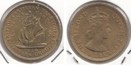 East Caribbean States 5 Cents 1956 Km#4 - Used - Caraibi Orientali (Stati Dei)