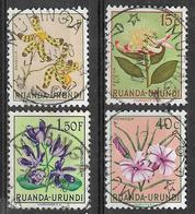 _5Bm-748:  4 Zegels Met MUHINGA - Ruanda-Urundi