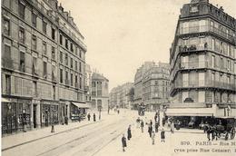 PARIS 5è - Rue Monge (vue Prise Rue Censier) - Très Animée - ELD N° 879 - Arrondissement: 05