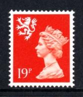GREAT BRITAIN 1989 Scottish Machin Definitive 19p: Single Stamp UM/MNH - Regionali
