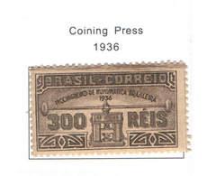 Brasile PO 1936 Stampa Monete   Scott.421+See Scan On Scott.Page - Brazil