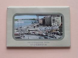 STOCKHOLM Fotografier Fran ( Small Carnet Format +/- 10 X 6,5 Cm. - 10 Photo ) Forlag Nordisk Konst ( See Photo Svp ) ! - Suède
