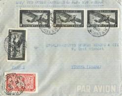 VIETNAM SAÏGON HAIPHONG LETTRE RECOMANDE REGISTERED LETTER STAMP INDOCHINE VIET-NAM - Covers & Documents