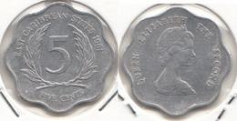 East Caribbean States 5 Cents 1981 Km#12 - Used - Caraibi Orientali (Stati Dei)