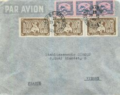 SAÏGON OUESCO BP 359 VIETNAM AFFRANCHISSEMENT LETTRE LETTER STAMP INDOCHINE VIET-NAM - Indochina (1889-1945)