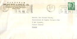 HONG-KONG TACK SANG IMPORT § EXPORT KOWLOON HONGKONG CHINE CHINA LETTER STAMP - 1941-45 Ocupacion Japonesa