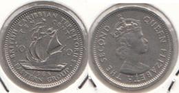 East Caribbean States 10 Cents 1965 Km#5 - Used - Caraibi Orientali (Stati Dei)