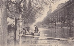 L'Avenue D'Antin - Inondations De 1910