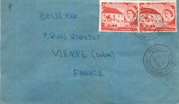 ILE MAURICE MAURITUS LETTRE TIMBRE LETTER STAMP - Maurice (1968-...)