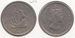 East Caribbean States 25 Cents 1965 Km#6 - Used - Caraibi Orientali (Stati Dei)