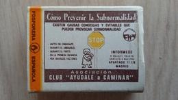 Zündholzschachtel Aus Spanien Mit Hinweis Auf Vorsorgeuntersuchungen - Zündholzschachteln