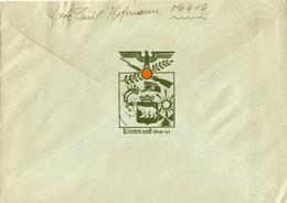 Zusatzstempel Finnmark Auf Feldpost 3./ Armee-Nachrichten-Regiment 550 Lappland-Armee - Deutschland