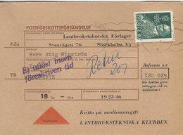 Sweden - Postförskottsförsendelse.  H-1352 - Other