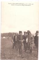 CPA- Circuit De L´Est Nancy-Jarville - 9,10 Et 11 Août 1910 - Aubrun Arrive Second De L'étape Troyes-Nancy - Aviateurs