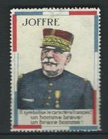 VIGNETTE époque DELANDRE - Propagande  WWI WW1 Cinderella Poster Stamp 1914 1918 War - Commemorative Labels