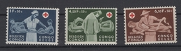 Congo-Belge. 1957. COB N° 341/43 **, MNH. Cote COB 2018 : 4 € - Belgisch-Kongo