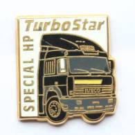 Pin's IVECO Turbo Star SPECIAL HP - Le Tracteur Routier - Zamac - H110 - Transports