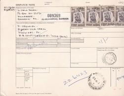 BAHRAIN DISPATCH NOTE GIRO CIRCA 1990's .-BLEUP. - Bahrein (1965-...)