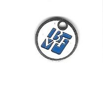 Jeton De Caddie  Argenté  B V F  Boulonnerie Visserie Fixation  BEGLES  ( 33 ) - Einkaufswagen-Chips (EKW)