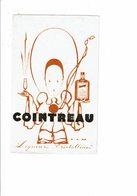 Buvard Liqueur COINTREAU Pierrot Dessin De Jean Adrien Mercier - Liquor & Beer