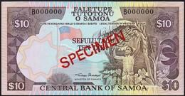 Western Samoa - 10 Tala 1980, *UNC* Specimen - Samoa