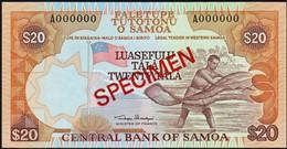 Western Samoa - 20 Tala 1984, *UNC* Specimen - Samoa