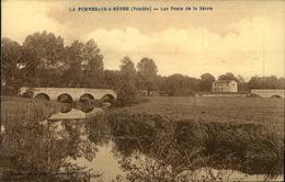 N°726 RRR GG LA POMMERAIE SUR SEVRE LES PONTS DE LA SEVRE  LEGERES PLIURES - France