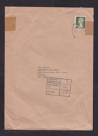UK: Cover, 1987, 1 Stamp, Machin, Postage Due, Taxed, Underpaid (tape Over Stamp) - 1952-.... (Elizabeth II)