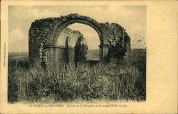 N°730 RRR GG LE POIRE SUR VELLUIRE RUINES DE LA CHAPELLE DE COUSSAY - Poiré-sur-Vie