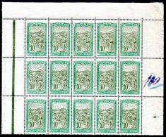 MADAGASCAR - YT N° 132 Bloc De 15 Cdf - Neufs ** - MNH -  Cote 13,65 € - Madagaskar (1889-1960)