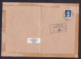 UK: Cover, 1989, 1 Stamp, Machin, Postage Due, Taxed (damaged, See Scan) - 1952-.... (Elizabeth II)