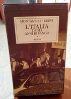 L'ITALIA DEGLI ANNI DI FANGO  INDRO MONTANELLI  E MARIO CERVI ALL'INTERNO DEDICA CON FIRMA DI INDRO MONTANELLI (VEDI FOT - Libri, Riviste, Fumetti