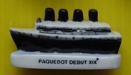 Fève - Transports Prestigieux -  Paquebot Début XIX Siècle - Réf AFF 2003 85 - Fèves