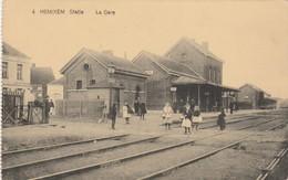 Hemixem , Statie   , N° 4 , La Gare - Hemiksem