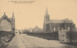 Hemixem , Kerk En Gemeenteplaats  , N° 7 , église Et Place Communale - Hemiksem