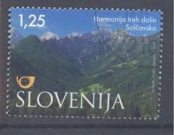 Slovenia Slowenien 2012 Used CTO S/S : Tourism Holidays Nature Protection: Solcavslo Region; Logarska Dolina - Umweltschutz Und Klima