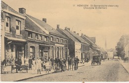 Hemixem , St-Bernardsche Steenweg , N° 11 , Chaussée St Bernard - Hemiksem