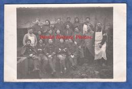 CPA Photo - Prés Du Front Ambulance 14 - Portrait De Poilu Un Du 157e Régiment -1915 Soldat Pierre Grapeloup La Clayette - Guerre 1914-18