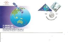 Espace ( FDC D'Indonésie De 1996 à Voir) - FDC & Commemoratives