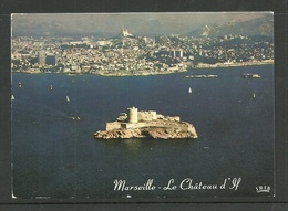FRANCE Frankreich Post Card MARSEILLE Le Chateau D`If Used 1993 - Unclassified